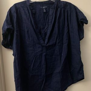 Gap Dark Blue Blouse